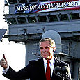 George Bush Denies Slow Response to Hurricane Katrina