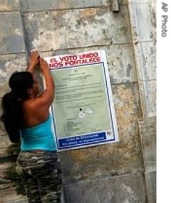 Cubas parliamentary elections